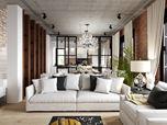 Suburban House loft style