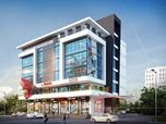3D Architectural Rendering of Commercial Space