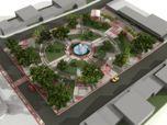 Praça - Bom Jesus da Penha
