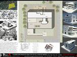 Elaboration project, villa Stein de Monzie, Le Corbusier