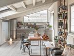recupero edilizio  secondo criteri di bioarchitettura di  una casa  in centro storico
