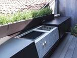 outdoor sliding kitchen