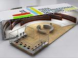 Progettazione padiglione espositivo