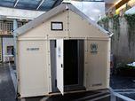 IKEA Foundation's temporary shelter