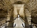 Restoration of the galleries of the Royal Granary of Carlos IV of Porcuna (Jaén) for future headquarters of the Archaeological Museum