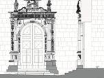 Restauro Conservativo del Portale della Chiesa di Santa Maria delle Grazie ad Anversa degli Abruzzi