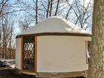 Yurta moderna Red Sun 5m di diametro, milano