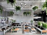 showroom of fragile garden furniture