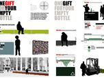 "International contest ""Beer bottles in public spaces"" Special Mention 2009 - 02 Italia Co-Creando"