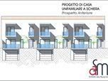 Progetto di case unifamiliari a schiera