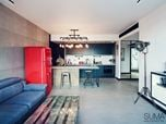 Industrial style Apartment in Cracow / Poland