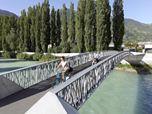 footbridge over the vispa