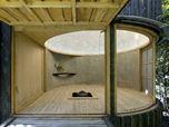 Teahouse in the garden