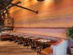 Rammed Earth Effect naturally pigmented clay plaster walls