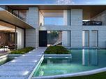 House in OKOL Lake park golf club