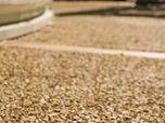 Pavimento drenante ecologico in granulati e resina