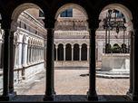 Restauro architettonico del chiostro, Abbazia di Santa Croce, loc. Sassovivo