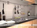 photorealistic ikea kitchen 3d