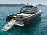 The 68-foot Alen Yacht