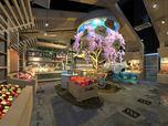 "Raw and radical design concept of the food store ""Mall Mart"", Ras Al Khaimah, UAE by Evelina Aleksiunaite"