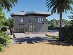 New modern House . Near the lake.