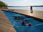 Redevelopment of the east side Paprocany lake shore in Tychy