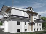 Progetto di ristrutturazione di una villa bifamiliare