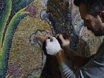 Restoration of Al-Aqsa mosaics
