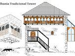 Albania Tradicional Tower