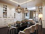Livingroom architectural render
