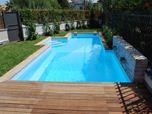 Progetto di una piscina Palermo Mondello Italia