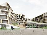 """""""I PORTICI"""". Complesso polifunzionale: residenze, commercio, spazi pubblici"""