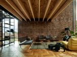401_Circular Brick House with Rammed Earth Wall