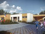 Kindergarten for 40 children in 'Rastuschi' cluster home community