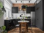 """The apartment of 56 square meters in Moscow's """"Stalinist"""" house"""
