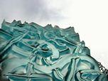 Art glass menhir