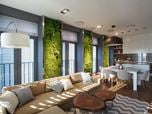 Vertical Wall Garden Apartment