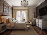 Elegant Bedroom: 3D Visualization