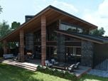 Project of the private house