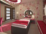 Teenager's Pink Room