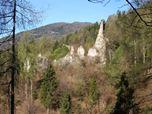 Consolidamento Statico, Restauro e Conservazione dei Ruderi Castello di Castellalto di Telve di Sopra (Trento)