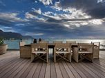 Roda outdoor Chairs - Specified by Antoni & Associates