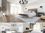 Soft Bedroom Interior
