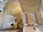 Restauro aula absidata Palestrina 2400 a.c. -Arch.R.Pinci - Arch.P.Vigilante-  D.Sc. Dott.ssa Sandra Gatti