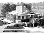 1963 - Municipio di Segrate, Milano, Italia. 1963 - Segrate City Hall, Milan, Italy.