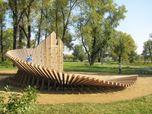 PLAYGROUND - CLIMBING WALL - SANDBOX