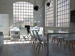 Uffici nel loft industriale