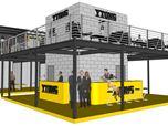 YTONG fair exhibition design