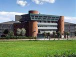 1971 - Centro Civico e Municipio, Pieve Emanuele, Milano. 1971 - Civic Center with City Hall, Pieve Emanuele, Milan, Italy.