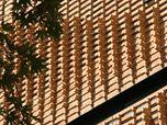Brick Pattern House